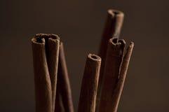 Palillos de Cinamon Imagenes de archivo
