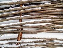 palillos de la cerca Imagen de archivo