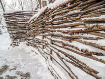 palillos de la cerca Imagen de archivo libre de regalías