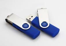 Palillos de la memoria del USB Fotografía de archivo