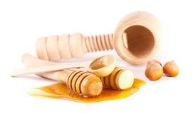 Palillos de la miel Foto de archivo libre de regalías