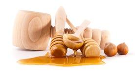 Palillos de la miel Imagenes de archivo