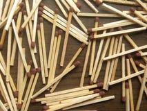 Palillos de madera del emparejamiento fotografía de archivo
