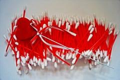 Palillos del algodón Fotografía de archivo