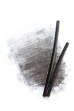 Palillos del carbón de leña Fotos de archivo
