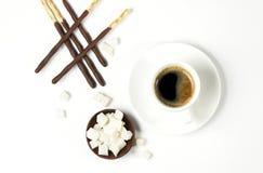 Palillos del chocolate Imágenes de archivo libres de regalías