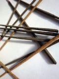 Palillos del incienso Fotografía de archivo