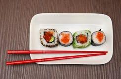 Palillos del sushi Fotografía de archivo libre de regalías