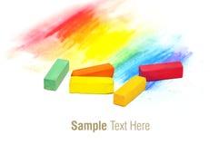Palillos en colores pastel Imagen de archivo libre de regalías