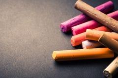 Palillos en colores pastel Foto de archivo