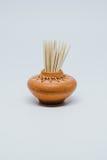 Palillos en pequeña cerámica Imagen de archivo libre de regalías