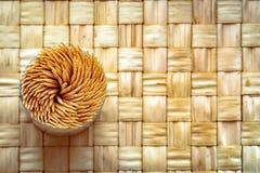 Palillos en remolino Foto de archivo libre de regalías