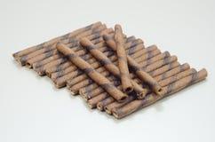 Palillos finos largos de la galleta Imagen de archivo libre de regalías