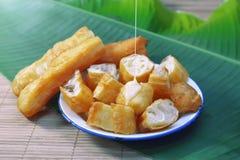 Palillos fritos chino de la pasta Imagenes de archivo
