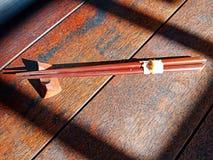 Palillos japoneses imagen de archivo
