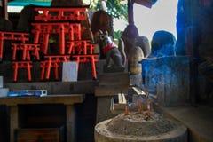 Palillos japoneses del incienso, Kyoto fotografía de archivo libre de regalías