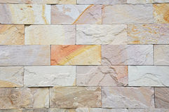 Palimanan stones. Palimanan stone wall as background Stock Photos
