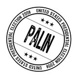 Palin rubber stamp Stock Photos