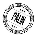 Palin rubber stamp Stock Photos
