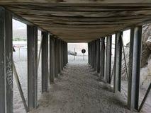 Palinuro - που διασχίζει Arco Naturale Στοκ Φωτογραφίες
