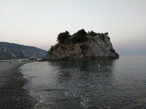 Palinuro, Mingard ` s skała - zdjęcia royalty free