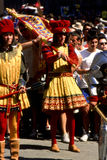 Palio二锡耶纳- 2003年7月 免版税库存图片