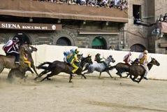 Palio de Siena Imagem de Stock Royalty Free
