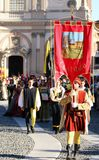 Palio de Vigevano Italia foto de archivo