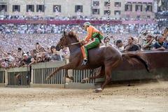 Palio di Siena Royalty Free Stock Photo