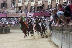 Palio di Siena Stock Photo