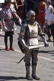 Palio di Siena - juli 2003 Royaltyfria Foton