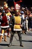 Palio di Siena - juli 2003 arkivfoton