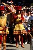 Palio di Siena - juli 2003 royaltyfri bild