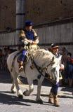 Palio di Siena - juli 2003 Royaltyfri Fotografi