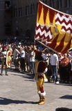 Palio di Siena - july 2003 Stock Photography