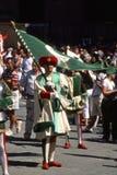 Palio di Siena, Lipiec - 2003 Zdjęcia Royalty Free