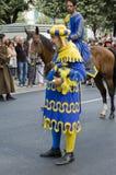 Palio em Arezzo Fotografia de Stock Royalty Free