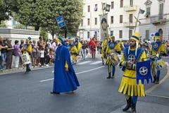 Palio en Arezzo Imagenes de archivo