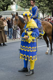 Palio i Arezzo Royaltyfri Fotografi