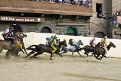 Palio of Siena Royalty Free Stock Image