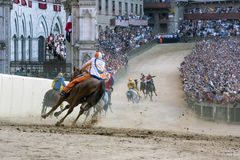 The Palio of Siena Stock Photography