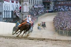 Palio van Siena Stock Fotografie