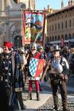 Palio of Vigevano Italy. Vigevano, Italy -October 9, 2011 - 31° parade the Palio of Vigevano royalty free stock photography