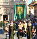 Palio of Vigevano Italy Stock Photo