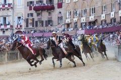 Palioen av Siena Royaltyfri Foto