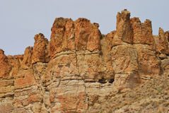 Palisade Cliffs Royalty Free Stock Images