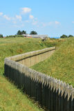 The palisade of Dybbol, Denmark (2) Royalty Free Stock Photo