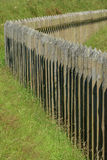 The palisade of Dybbol, Denmark Royalty Free Stock Photos