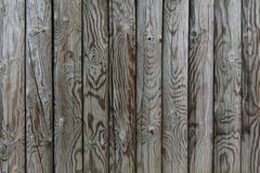 Palisade - fence from wooden stakes. Wooden texture stock photo