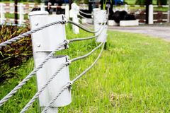 Palisade fencing Royalty Free Stock Image